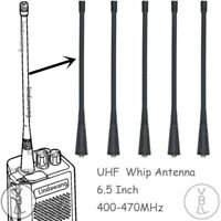 5x UHF Whip Antenna for Motorola GP344 GP350 GP360 GP380 GP388 Portable Radio