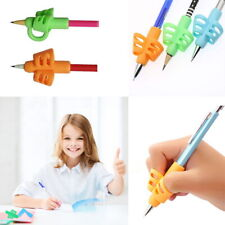 3/6 Pcs Set Pencil Holder Pen Writing Aid Grip Posture Tools Correction Kids