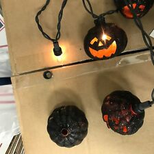 Pottery Barn halloween Pumpkins Jack-o-Lantern String Lights Strand REPLACEMENT
