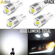 Alla Lighting Bright White LED Instrument Cluster 168 Bulb, Set of 4 ,for ford
