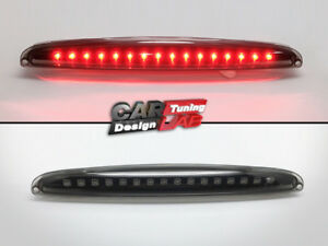Smoke LED 3rd Third Brake Light Lamp For Smart Car Fortwo 450 Coupe Gen.1