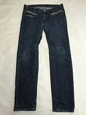 Womens MISS SIXTY Dark Wash Skinny Radio Jeans Sz 29