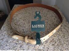 Ralph Lauren belt size M /with RLL monogram