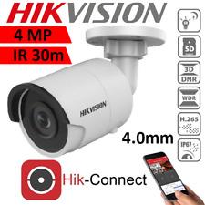 Hikvision Mini Bullet Security Camera 4MP IR 30m H.265 PoE DS-2CD2043G0-I