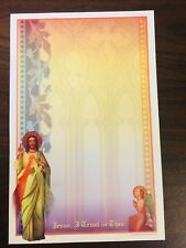 56 Piece Stationery Set, Religious Print, New