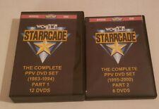 WCW STARRCADE  HE COMPLETE PPV DVD BOX SET  (1983-2000)