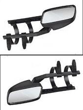 2 Caravanspiegel, Wohnwagenspiegel, Aufsetzspiegel, f. Pkw universal verwendbar