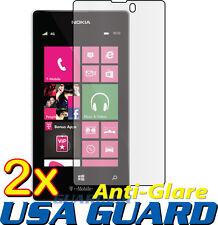 2x Anti Glare Matte LCD Screen Protector Cover Guard Nokia Lumia 521 (T-Mobile)