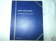 Whitman Folder # 9010 for Bust Dimes, New!