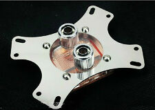 CPU Water Cooling Block 50*50 Copper Base Cool Inner Channel For AMD INTEL CPU