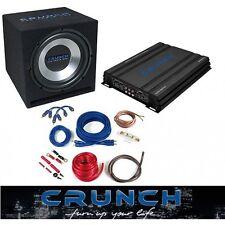 Crunch basspack 2ch cbp500 basspaket 500W Ground pounder-serie CBP 500