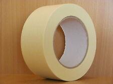 BBK-K80 / 24 x Abdeckband 50 mm x 50 m Lackiererband Kreppband Abklebeband 80°C