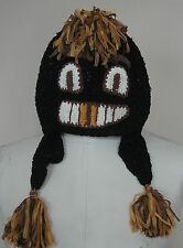 Adini One Size Adult Winter Monster Face Hat- Fun and Goofy