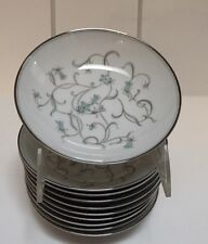 Noritake Alicia Pattern For 5 Fruit or Dessert Bowls In This Listing - EUC