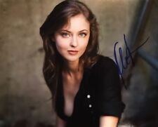 KATHARINE ISABELLE HAND SIGNED 8x10 PHOTO HORROR ACTRESS HOT SEXY RARE AUTHENTIC