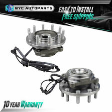 Pair Front Wheel Hub Bearing for 2008 2009 2010 2011 12-2015 Dodge Ram 4500 5500