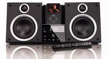 Rare Logitech Pure-Fi Elite 80W Loud iPod iPhone iPad MP3 Stereo System Dock