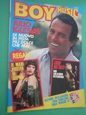 BOY MUSIC N 38 raro Sett. 1982 con Julio iglesias Maxi poster Sophie Marceau