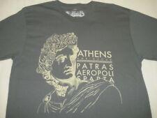 New AMBIGUOUS SKATE Athens fashion series men TEE T SHIRT DK GREY MEDIUM D14