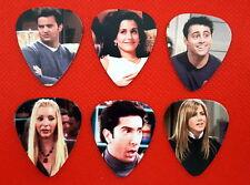 Full Set Friends TV Show Guitar Pick Pic Ross Rachel Phoebe Joey Monica Chandler
