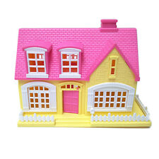 Lovely Window Door Openable Mini 3D Toy House Cottage Kids Doll  Delightful