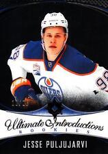 2016-17 UD Ultimate Introductions Onyx Jesse Puljujarvi #10/25 Oilers