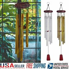 33/'/' Wind Chimes Tubes Outdoor Large Deep Tone for Garden Patio Balcony Decor US