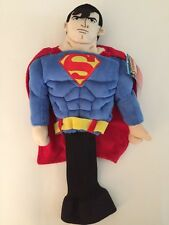 (1) NEW Plush Superman DC Comics Golf Head Cover  Creative Covers 460cc Driver