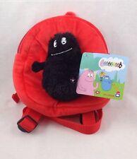 Barbapapa Red And Black Small Back Pack