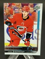 2018-19 Upper Deck #451 Andrei Svechnikov RC Young Guns