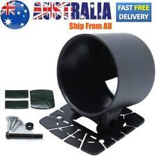 52 mm 2 inch Gauge holder Universal fits meter Black dash top car cup pod Single