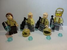 LEGO X4 RESISTANCE TROOPERS 75131 Officer minifigures STAR WARS mini figs lot