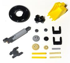 LEGO Technic 18 piece parts pack, turntables, linear actuator, bucket scoop