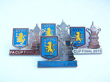 Aston Villa Championship Clubs Football Badges & Pins