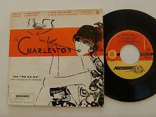 "LES WA GA DA dir J-P MENGEON, no 2 : CHARLESTON 7"" EP 45T 1958 PRESIDENT PRC 59"