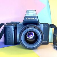 1989s Yashica 230-AF 35mm SLR Camera, W/ 35-70mm Zoom Lens! Working Retro Lomo!