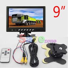 "9"" TFT LCD Car Rear View Screen Monitor For Reversing Camera / DVD VCD(12V-24V)"