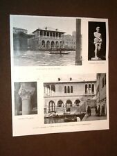 La nuova Pescheria di Venezia nel 1907 Di Cesare Laurenti e Domenico Rupolo