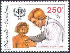 New Caledonia 1988 WHO 40th Anniv/UN/Medical/Health/Welfare/Doctor 1v (n42134)