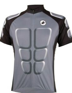 """Castelli """"ABS"""" Men's Cycling Jersey Size Large Grey : Weekend Sale"""