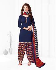 Indian Shalwar Kameez Cotton Dress Material Unstitched Suit D.No BLR1009