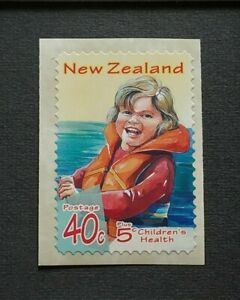 1998 New Zealand Children's Health Series - Water Safety 1v Self Adhesive Stamp