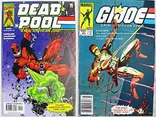 DEADPOOL #42 Great G.I. Joe 21 Silent Issue Parody Cover X-Cellent Copy BIG PICS