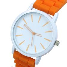 Fashion Candy Color Quartz Watches Men Women Trade Hollow Needle Dress Watch NEW