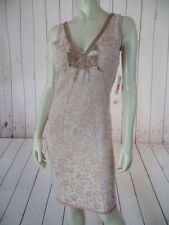 Free People Anthropologie Dress M New $168 Champagne Beads Bodycon Sheath