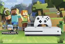 Microsoft - Xbox One S 500GB Minecraft Favorites Console Bundle with 4K Ultra...