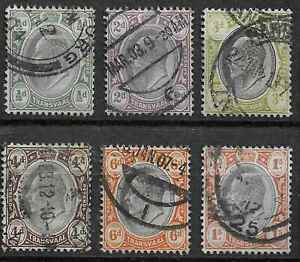 Transvaal 1902 selection used