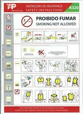 Safety Card - TAP Portugal - A320 - 2006 (S1792)