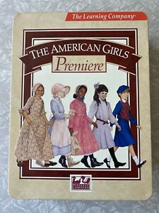 The American Girls Girl Premiere Collectors Set Computer learning PC Game NEW