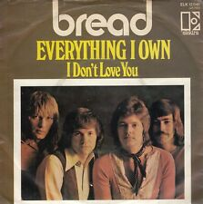 "BREAD-EVERYTHING I OWN/I DON'T LOVE YOU-RARE ORIGINAL GERMAN 7"" 45rpm 1972"